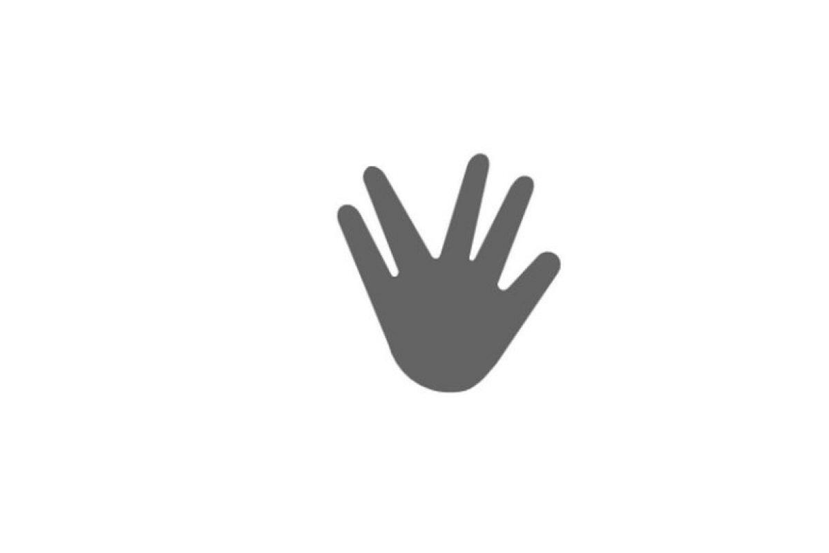 """El """"Saludo Vulcano"""" también estará disponible en este sistema Foto:Emojipedia. Imagen Por:"""