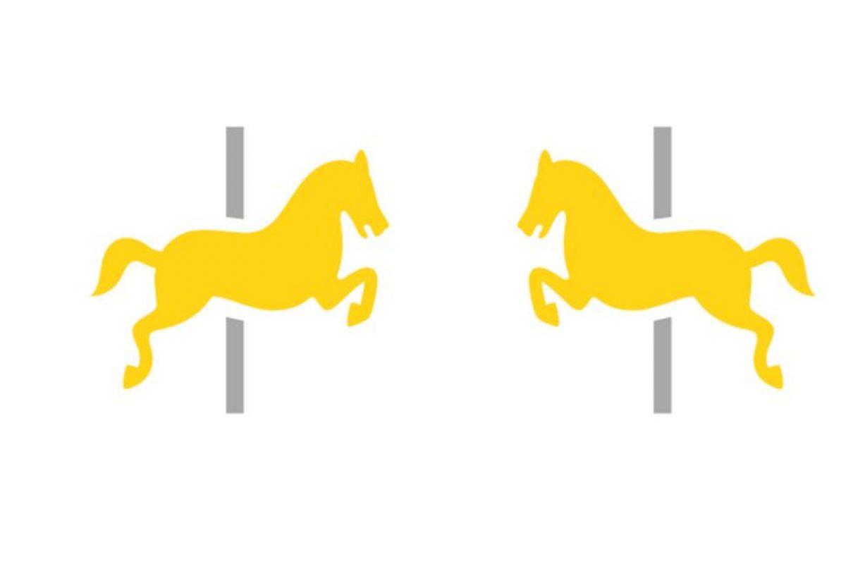El dibujo que representa el carrusel cambió de perfil Foto:Emojipedia. Imagen Por: