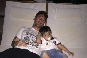 Fue hasta principios del mes de julio, tras perder la final del torneo sudamericano ante Chile, que Messi por fin tuvo vacaciones. Foto:Vía instagram.com/leomessi. Imagen Por: