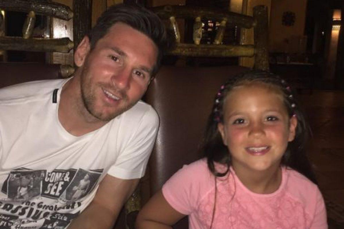 Leo descansó en su natal Rosario y luego viajó al Caribe con su familia. Foto:Vía instagram.com/leomessi. Imagen Por: