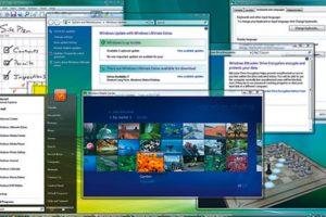 En el año 2006 Microsoft anunció la llegada del Windows Vista. Así lucía la interfaz Foto:Microsoft. Imagen Por: