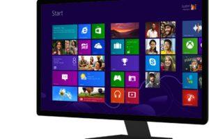 Windows 8 y 10 es la interfaz completamente renovada de sus sistema operativo Foto:Microsoft. Imagen Por:
