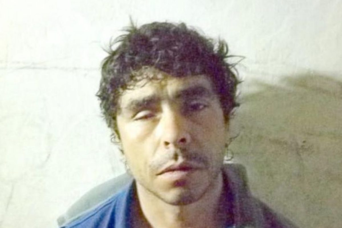 """""""El Tuerto Patelija"""", un conocido delincuente de la comuna de Llay Llay en la Región de Valparaíso. Foto:Reproducción. Imagen Por:"""