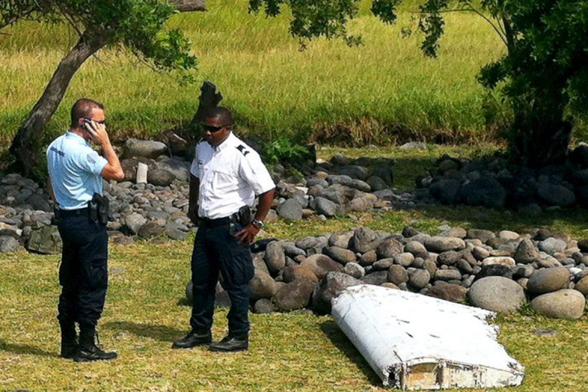 Los restos fueron encontrados en la Isla Reunion, en medio del océano índico. Foto:AFP. Imagen Por: