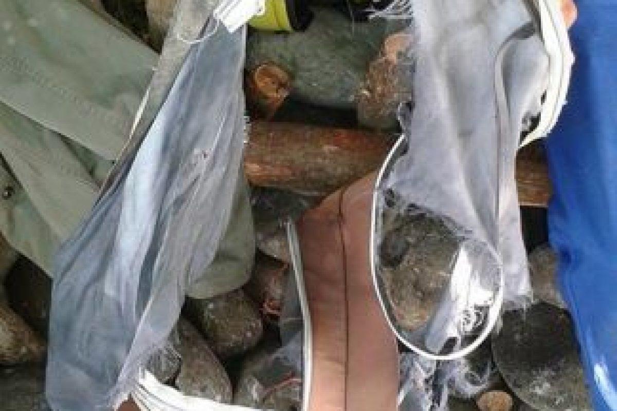 Este día se encontraron restos de una maleta Foto:AFP. Imagen Por: