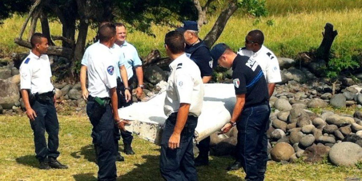 MH370: trozos de avión encontrados son compatibles con un Boeing 777