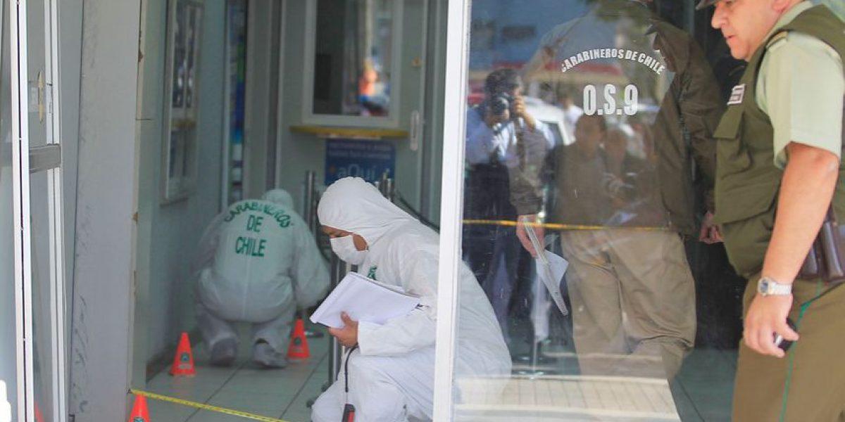 Detienen a dos sospechosos de quemar a cajero en Hualpén