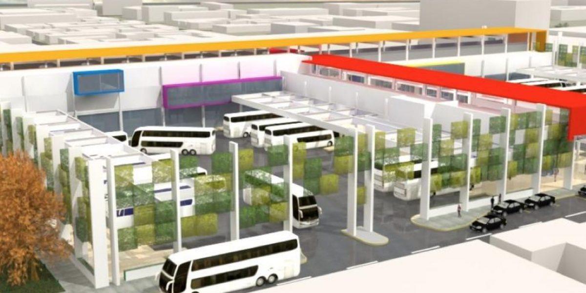 ¡No se vende! Así será el nuevo terminal Alameda Sur de Estación Central