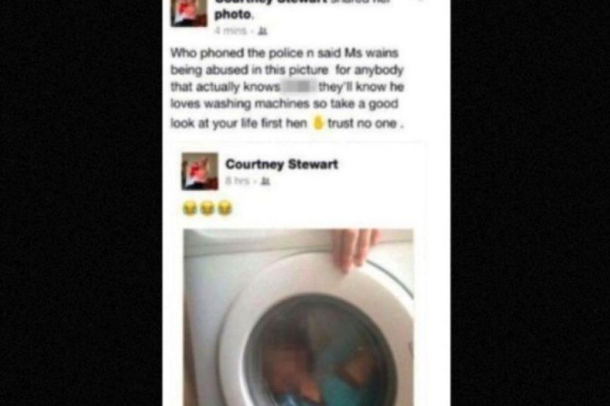El menor padece síndrome de Down Foto:Facebook/CourtneyStewart. Imagen Por: