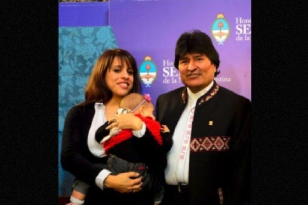 """Durante la visita de Estado del presidente de Bolivia a Argentina, Victoria escribió: """"Ella también escucha a Evo, pero se distrae un poco"""" Foto:Facebook.com/pages/Victoria-Donda-Pérez. Imagen Por:"""