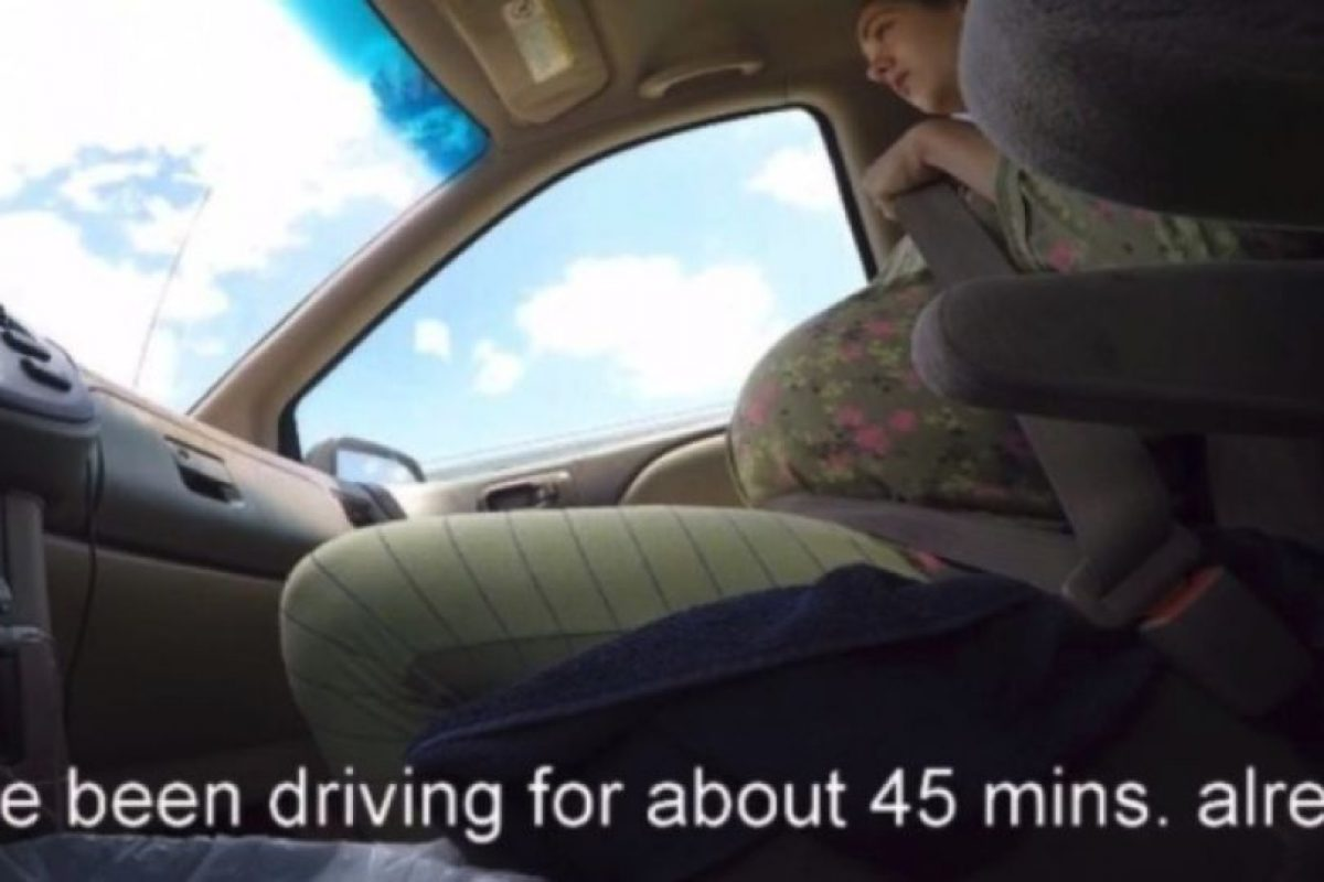 1. Madre da a luz en un automóvil Foto:YouTube/i8thacookies. Imagen Por: