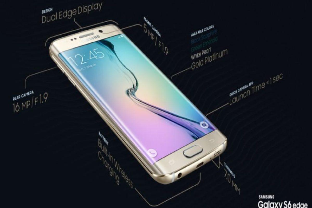 Ambos smartphones comparten el blanco, negro y dorado, aunque el azul topacio únicamente se podrá encontrar en el Samsung Galaxy S6 y el verde esmeralda estará disponible solamente en el Samsung Galaxy S6 Edge. Foto:Samsung. Imagen Por: