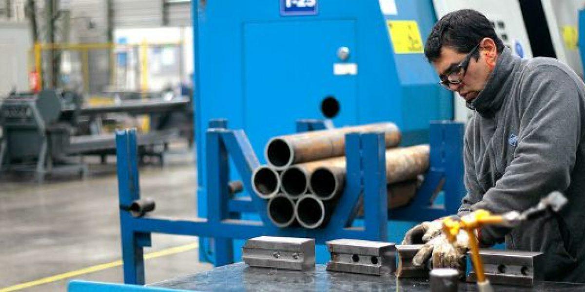 Producción Industrial creció un 1,6% en junio