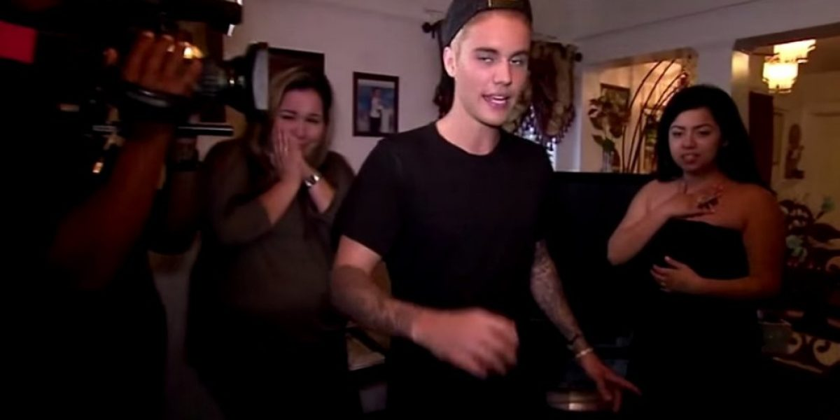 El conmovedor detalle que Justin Bieber tuvo con una de sus fans