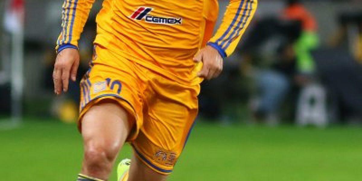 Así quedó el pie de Gignac tras la final de la Copa Libertadores ante River Plate