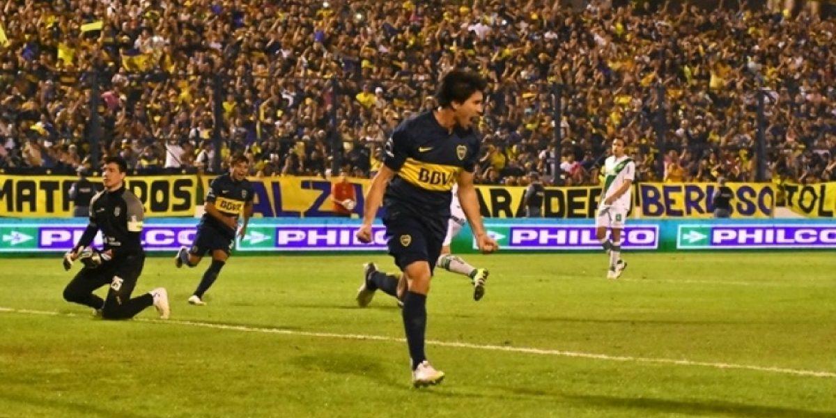 Carlos Tevez volvió a marcar con la camiseta de Boca: golazo de tiro libre a Banfield