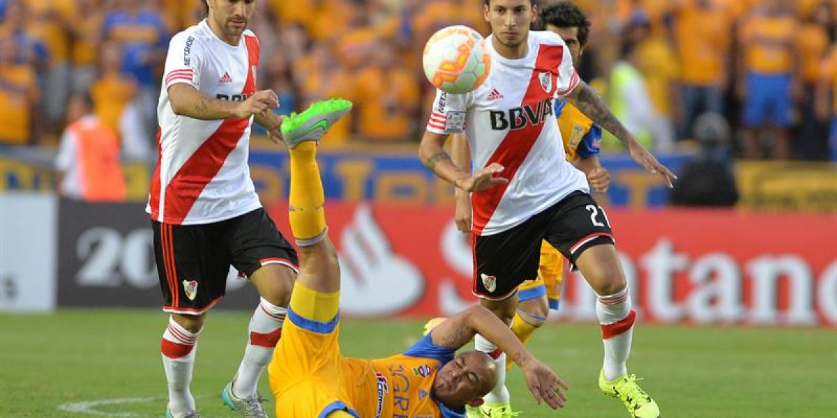 River rescató un empate ante Tigres en una deslucida primera final de Libertadores