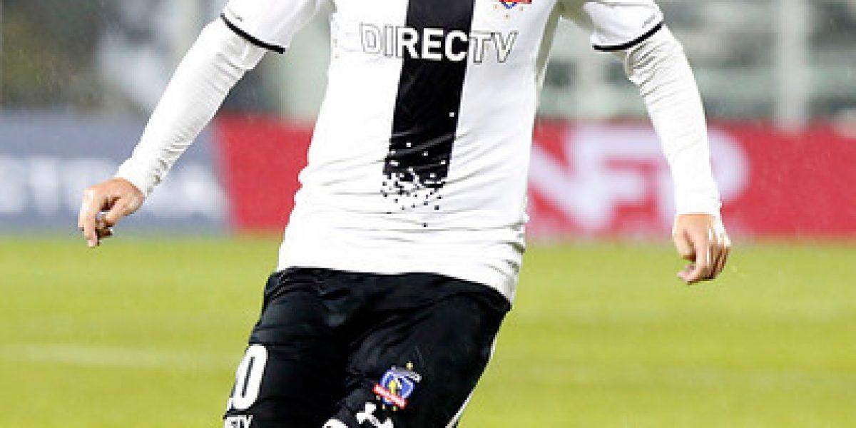 Colo Colo formará con Garcés para enfrentar a Huachipato