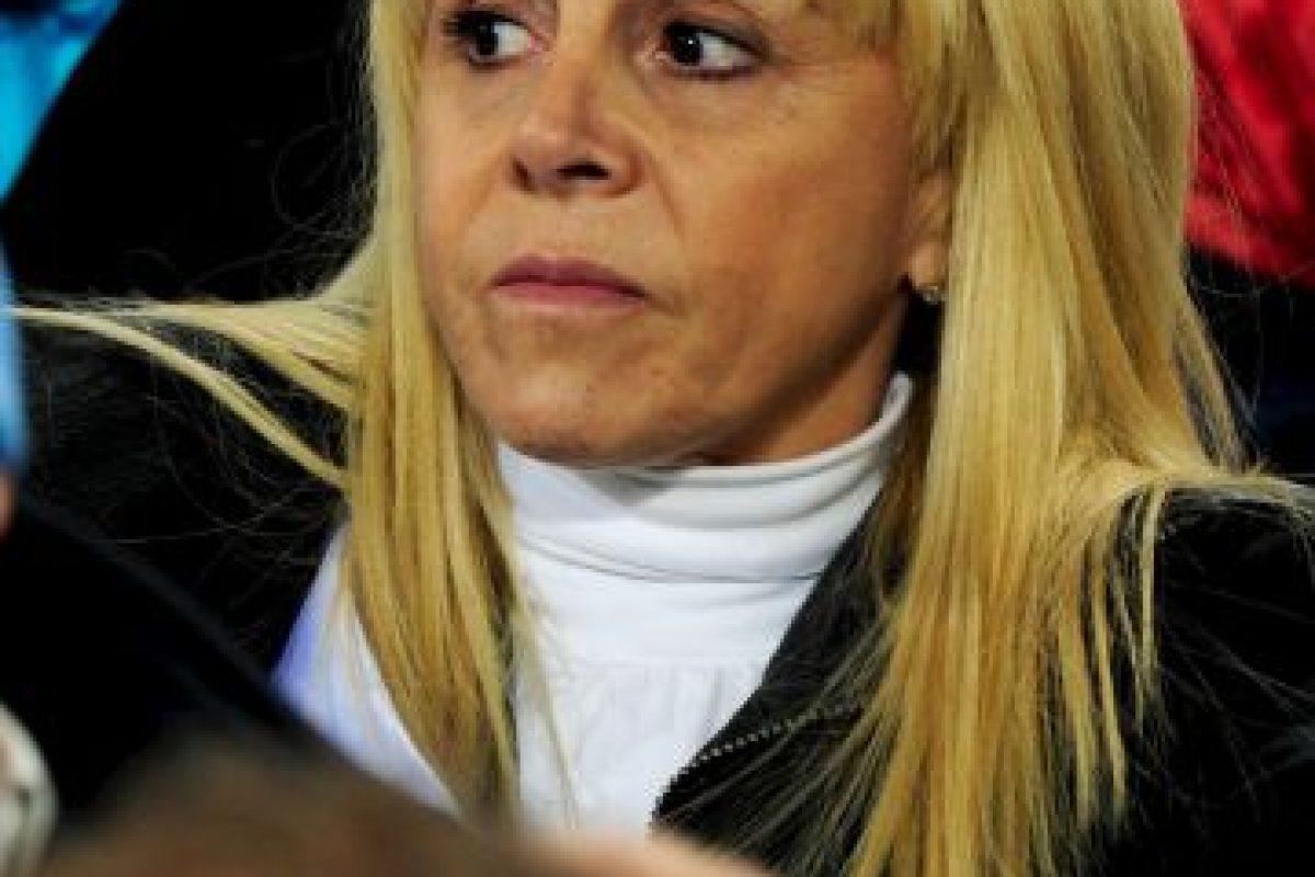 Claudia Villafañe, exesposa del argentino. Foto:Getty Images. Imagen Por: