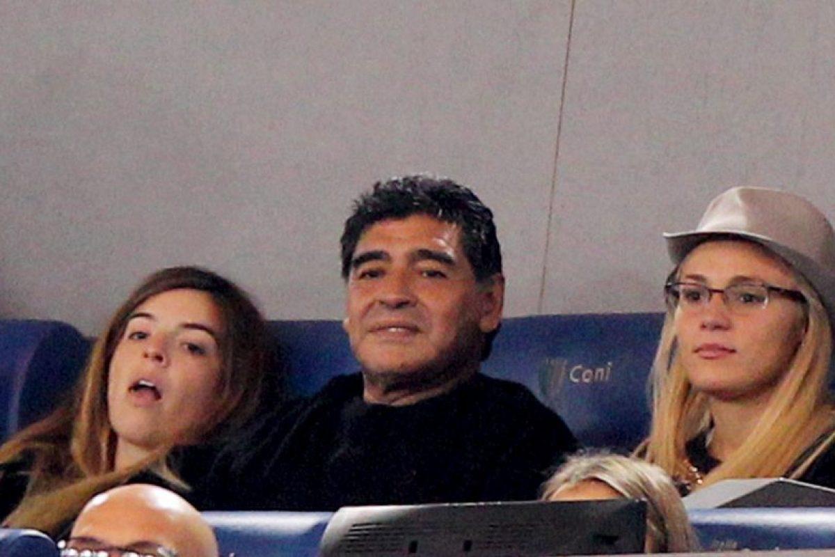 """Se trataba de """"El Chino"""" Maradona, sobrino de Diego y quien es considerado una persona """"non grata"""" por la pareja del exjugador. Foto:Getty Images. Imagen Por:"""