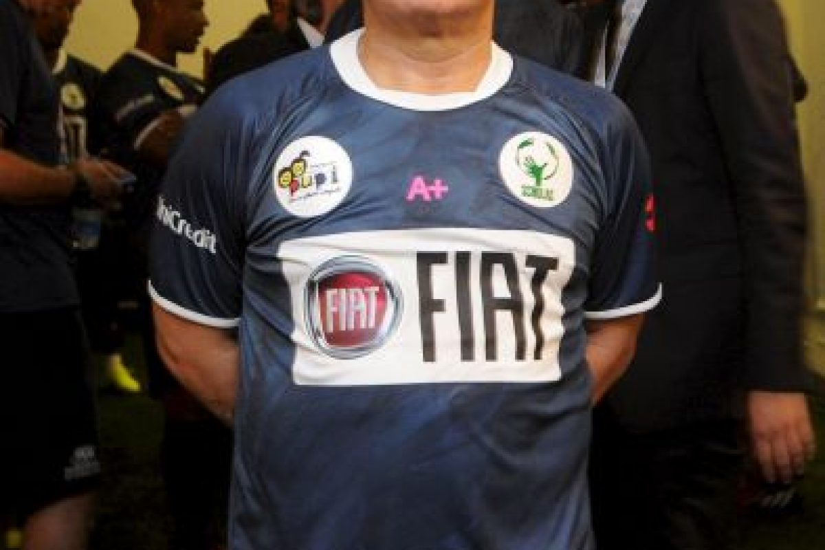 """En 2014, Maradona se lanzó contra el """"Kun"""" Agüero, expareja de su hija, Giannina, y con quien tuvo guerra de declaraciones por presuntas infidelidades. Foto:Getty Images. Imagen Por:"""