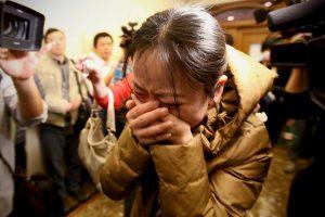 """""""Pero desde mayo ha habido un cambio drástico"""", comentó Jian Hui, vocero de las familias. Foto:Getty Images. Imagen Por:"""