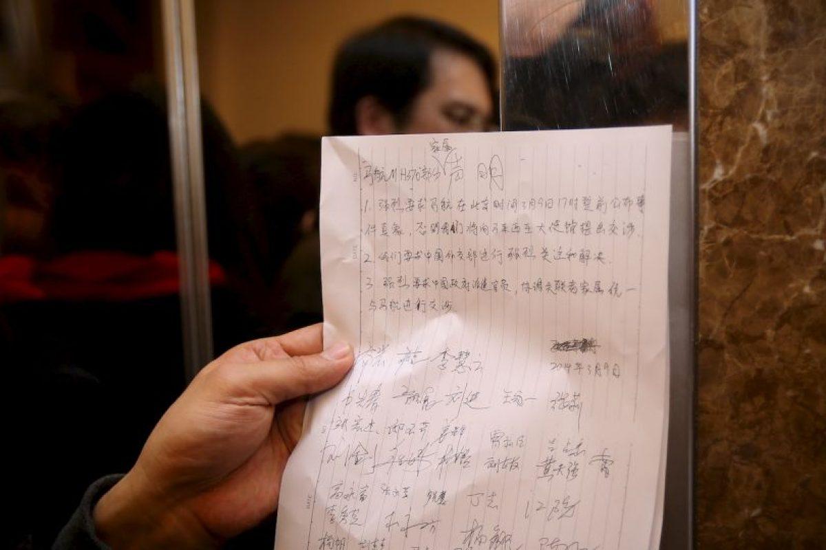 """""""Ya no sabemos en quién confiar"""", comentó Hui Foto:Getty Images. Imagen Por:"""