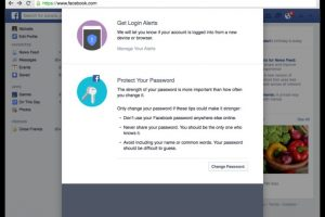 """Por último, Facebook enseña algunos """"tips"""" para mejorar la seguridad de la contraseña Foto:Facebook. Imagen Por:"""