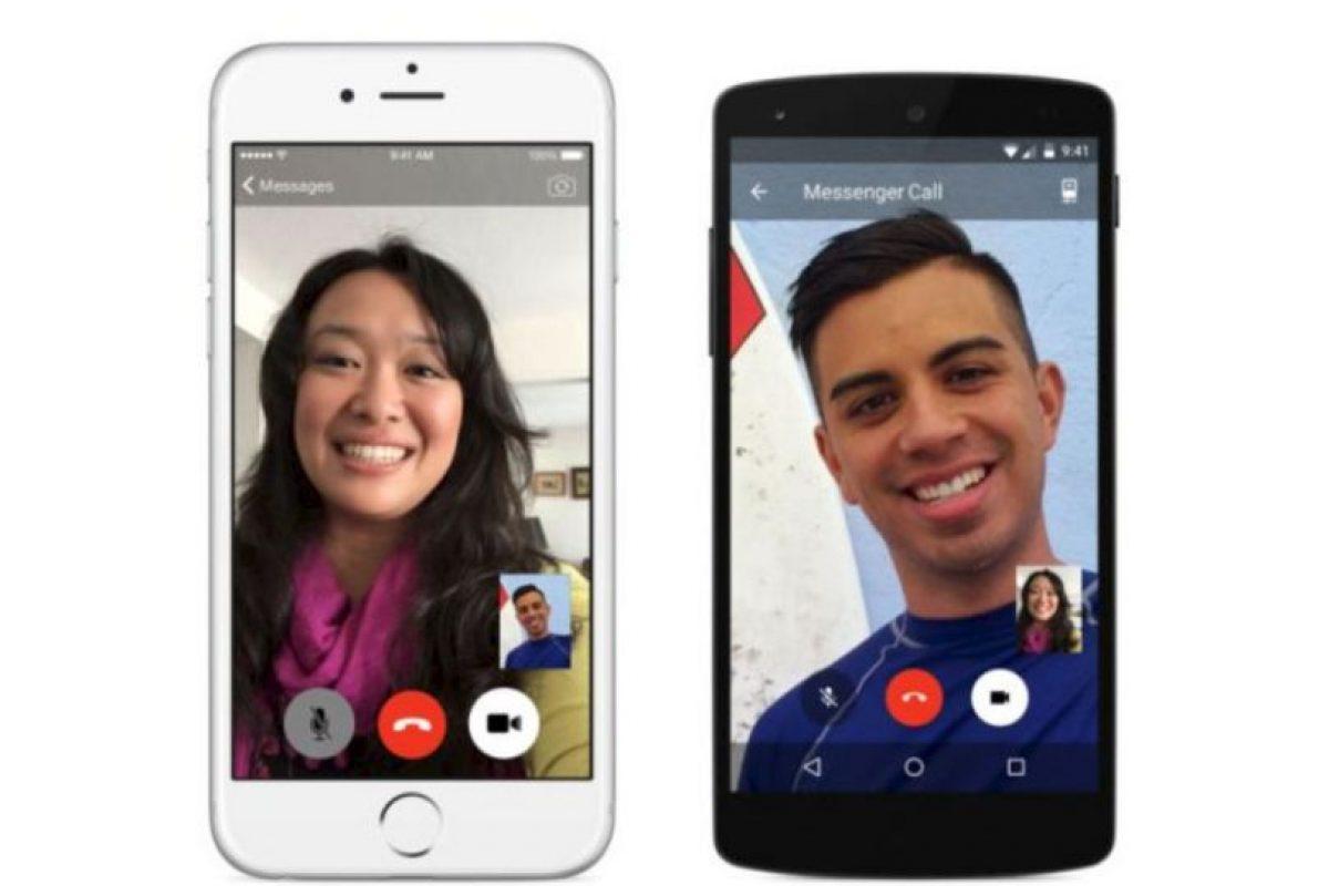 Videollamadas para móviles, disponibles solo para sistemas iOS y Android Foto:Facebook. Imagen Por:
