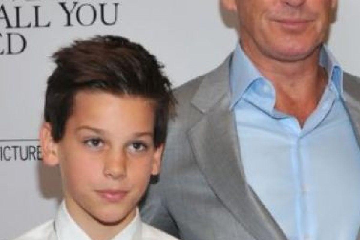 Pierce Brosnan y su hijo Paris. Foto:vía Getty Images. Imagen Por: