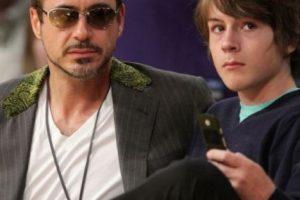 Robert Downey Jr. y su hijo Indio. Foto:vía Getty Images. Imagen Por: