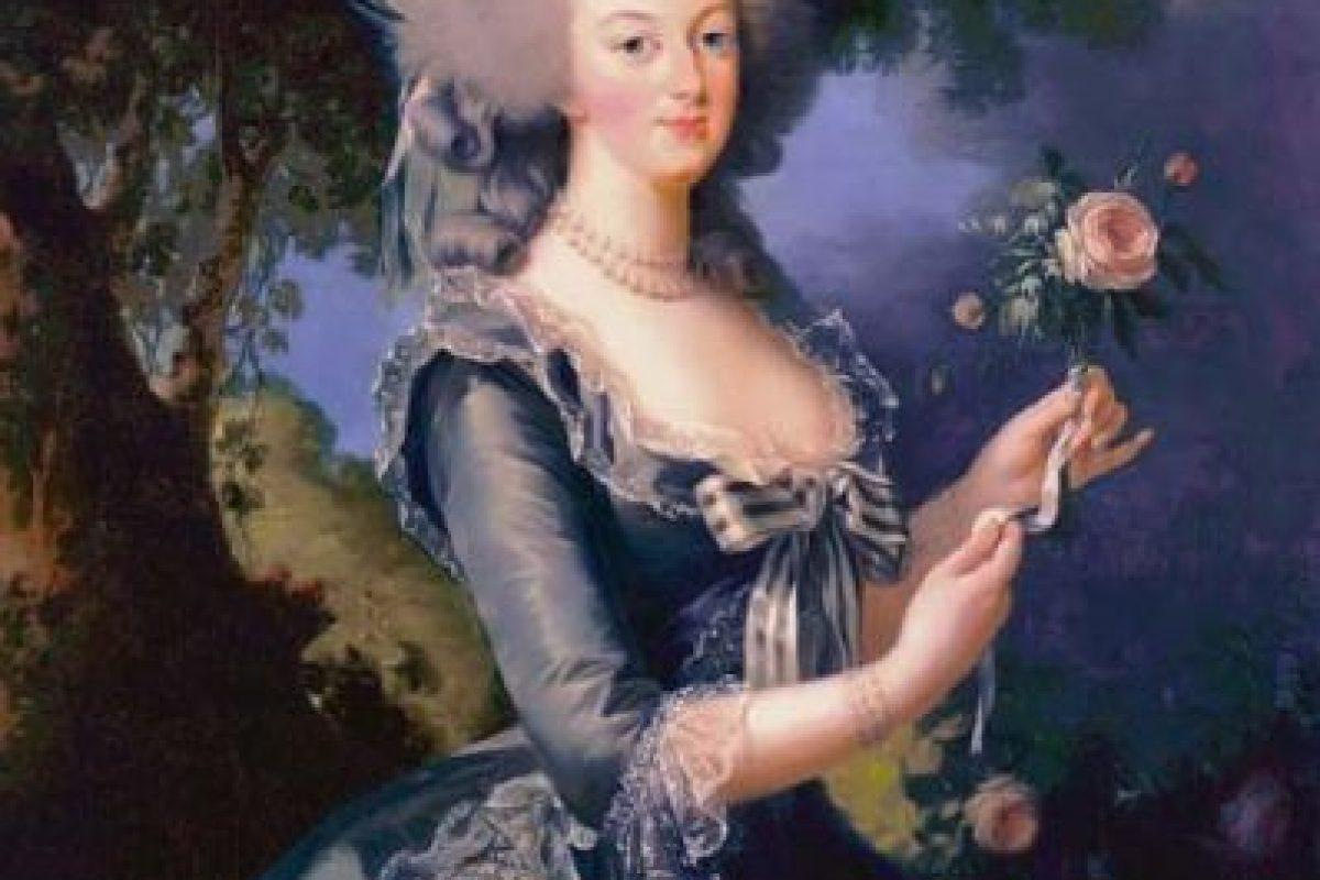 A la reina Maria Antonieta. Foto:vía Getty Images. Imagen Por: