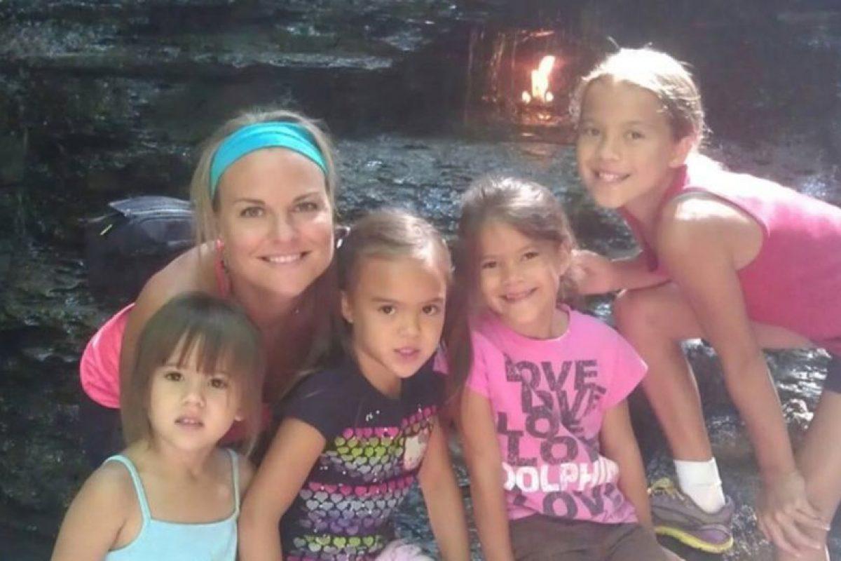 Elizabeth Diamond, era madre soltera de estas cuatro pequeñas. Foto:Vía youcaring.com. Imagen Por: