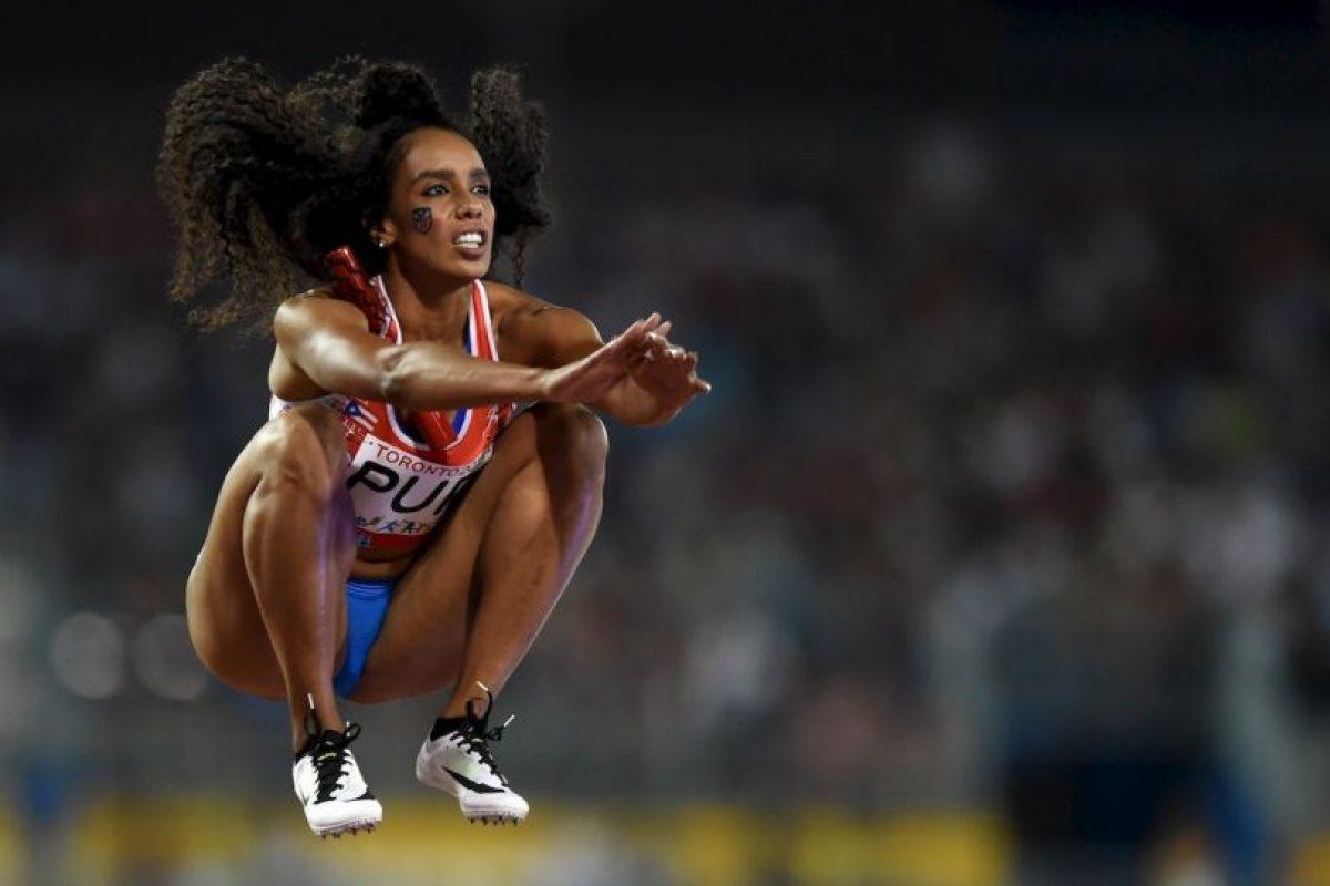 La puertorriqueña Carol Rodríguez en los Juegos Panamericanos 2015. Foto:AFP. Imagen Por: