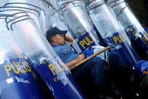 Policía en Filipinas. Foto:AFP. Imagen Por: