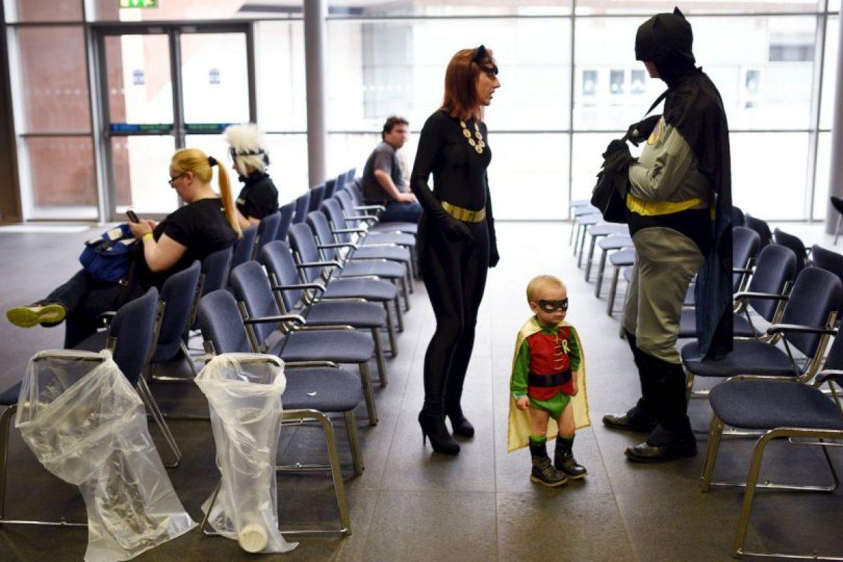 Cosplayers en Inglaterra. Foto:AFP. Imagen Por: