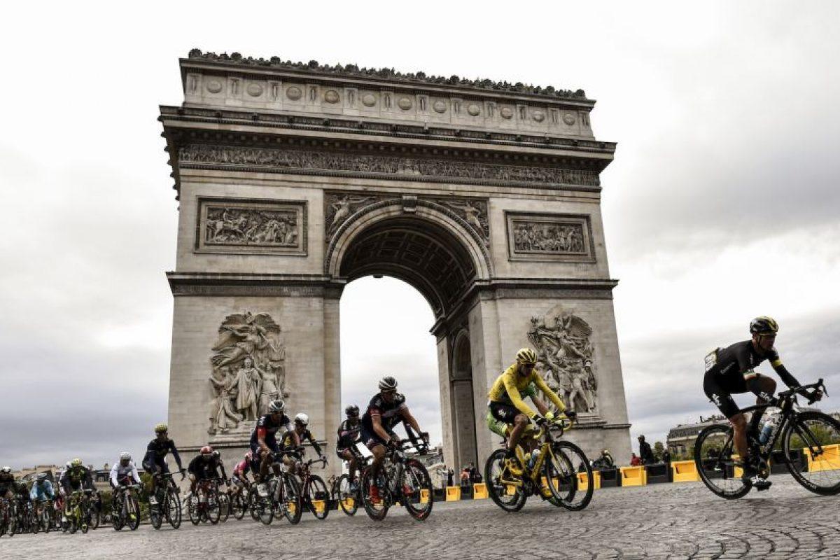 Parte final del Tour de Francia. Foto:AFP. Imagen Por: