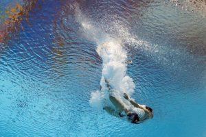 Nadadora norcoreana Kim Kuk Hyang durante el Campeonato Mundial FINA 2015. Foto:AFP. Imagen Por: