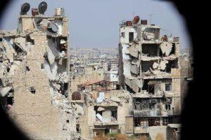 Ciudad de Alepo, en Siria. Foto:AFP. Imagen Por: