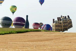 Festival de globos en Francia. Foto:AFP. Imagen Por: