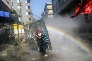 Protesta en Siria Foto:AFP. Imagen Por: