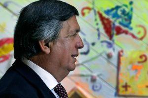 Lautaro Carmona, militante del PC Foto:Agencia Uno. Imagen Por: