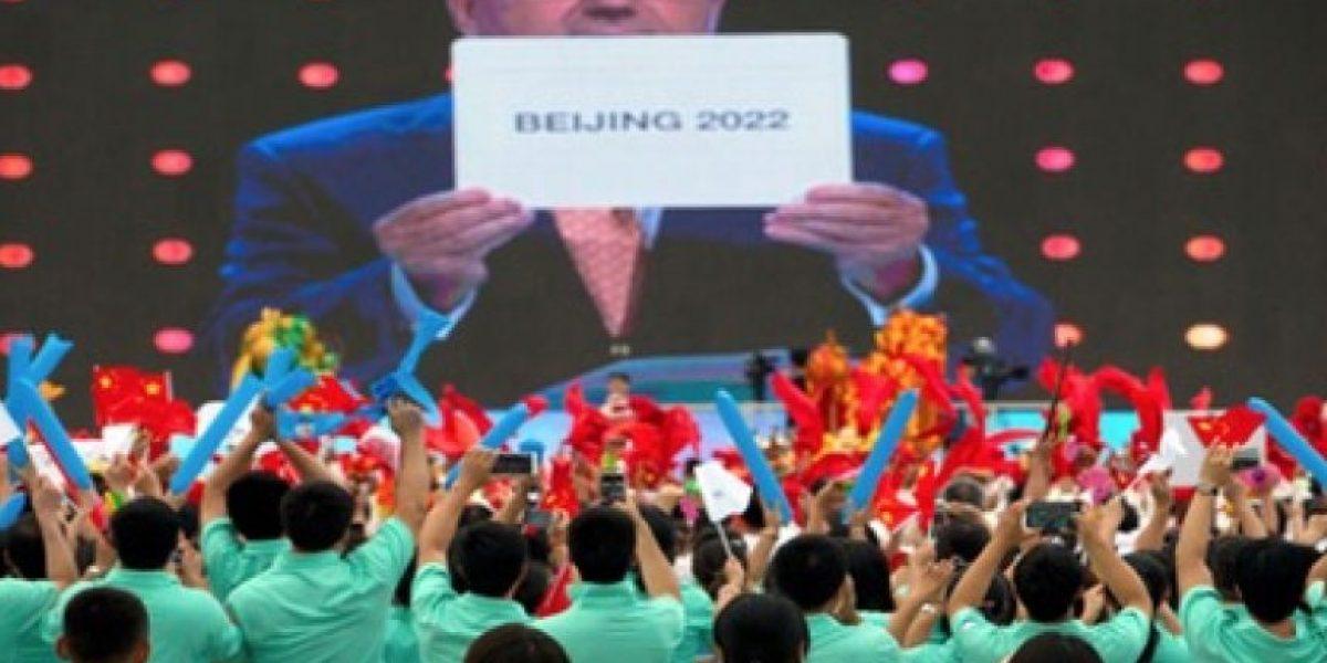 Así celebran ser elegidos sede de los Juegos Olímpicos de invierno del 2022