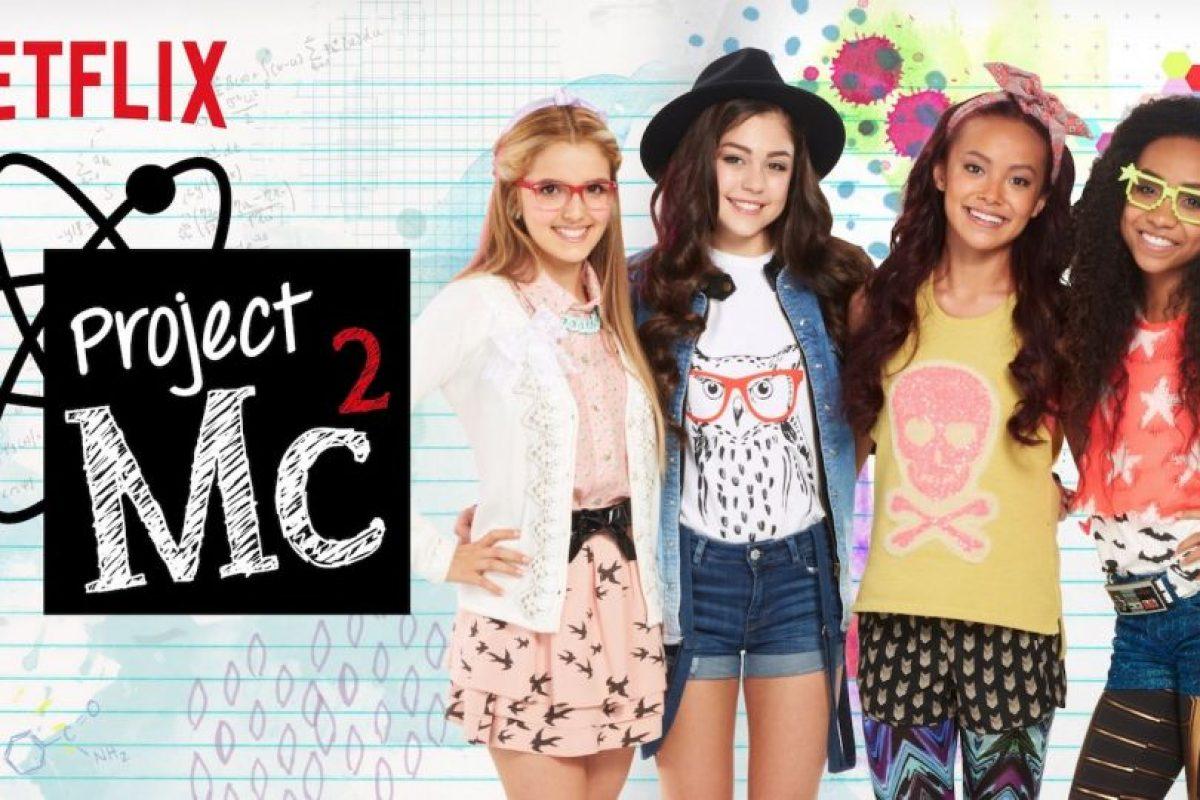 """""""Project Mc2"""". Disponible a partir del 7 de agosto. Foto:Netflix. Imagen Por:"""