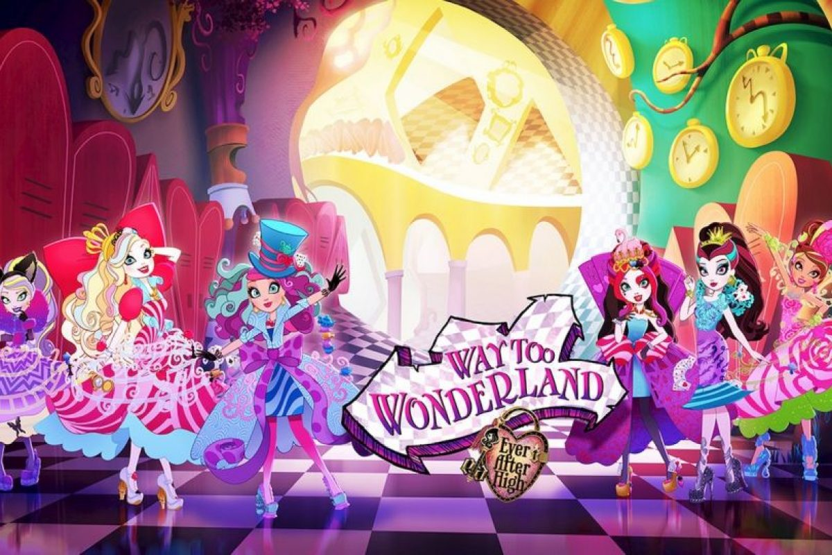 """Ever After High, Way too Wonderland"". Disponible a partir del 14 de agosto. Foto:Ever After High cartoon series.. Imagen Por:"