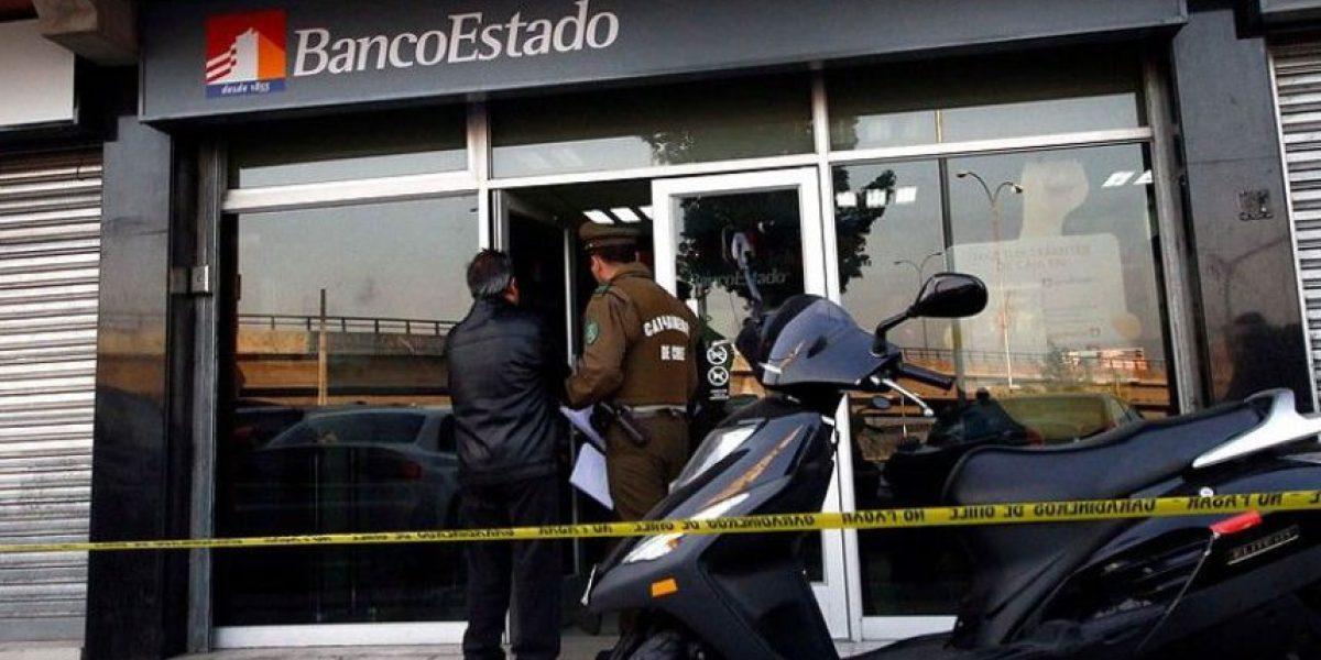 Insólito: ladrón ingresa a robar a banco en La Florida y huye tras arrepentirse