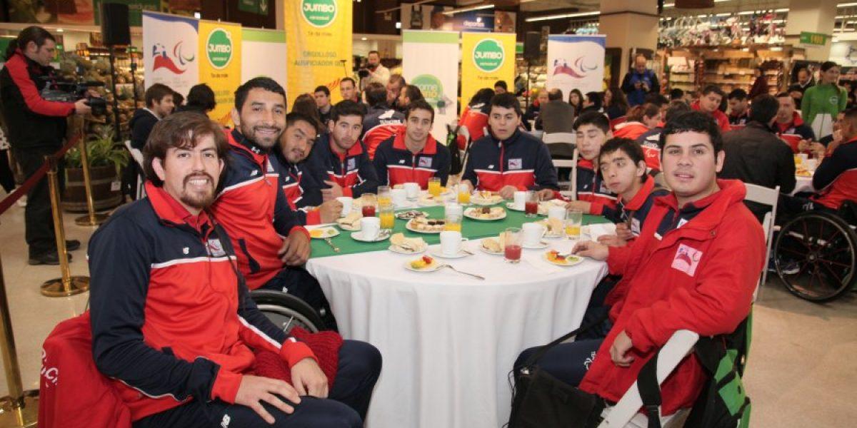 Delegación récord representará a Chile en los Parapanamericanos