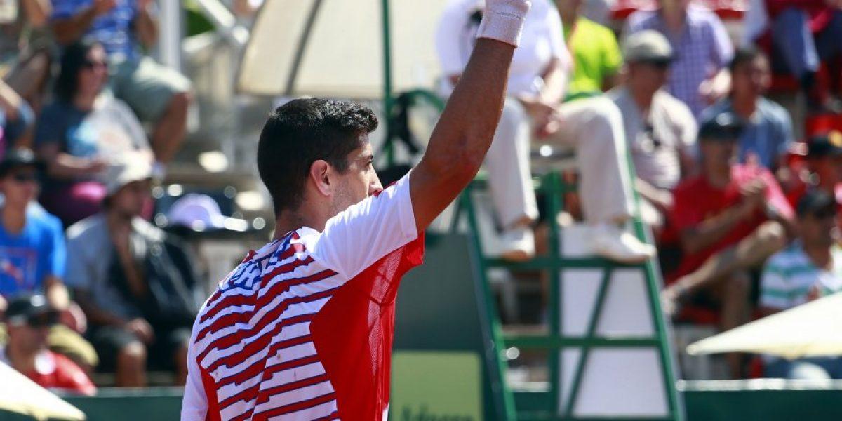 Hans Podlipnik quedó eliminado en cuartos del Challenger de Biella