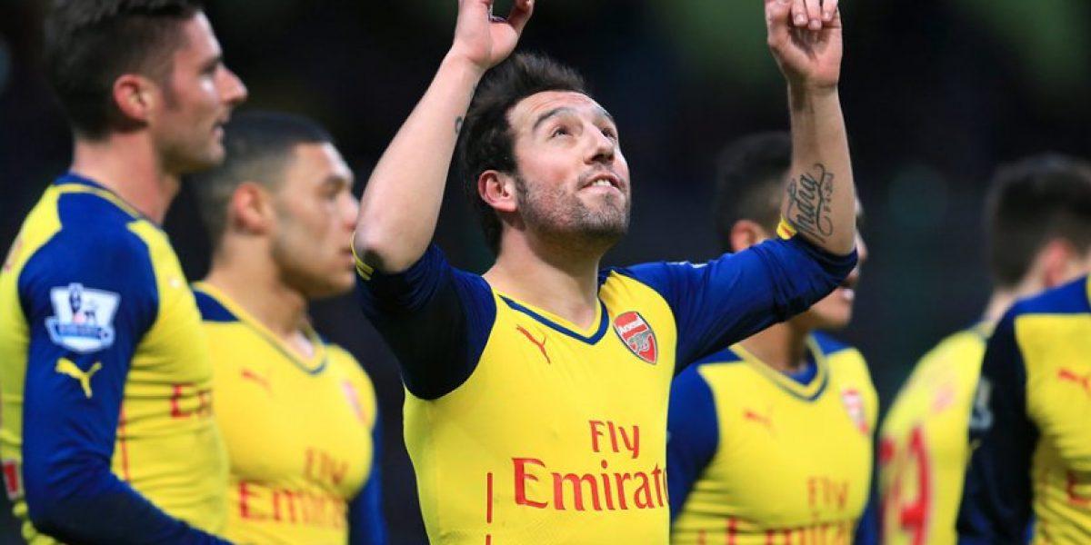 Santi Cazorla y Theo Walcott renuevan contrato con Arsenal de Alexis