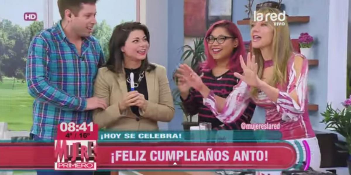 Con 41 años Antonella Ríos será mamá por segunda vez